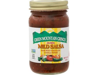 76% off Green Mountain Gringo Mild Salsa