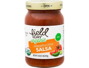 75% off Field Day Organic Hot Salsa