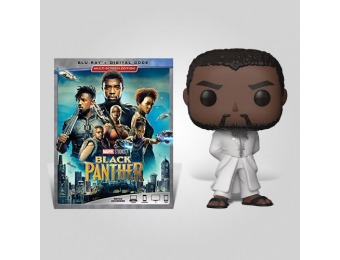 40% off Black Panther White Robe Blu-ray Bundle