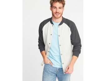 69% off Old Navy Men's Fleece Bomber Jacket
