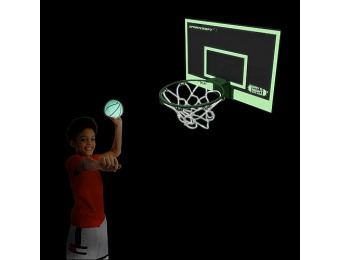78% off Sportcraft Glow-In-The-Dark Basketball Hoop