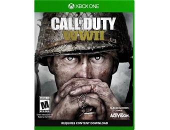 50% off Call of Duty: WWII - Xbox One