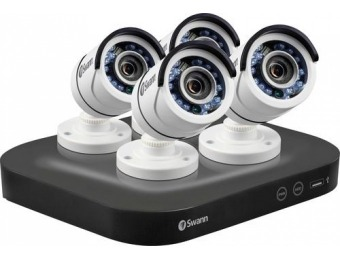 $150 off Swann PRO SERIES HD 8-Ch 2TB DVR Surveillance System