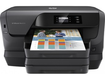 $110 off HP OfficeJet Pro 8216 Wireless Inkjet Instant Ink Printer