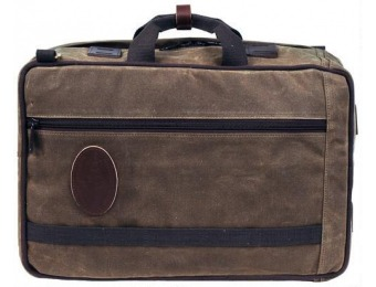 93% off Frost River Voyageur Convertible Backpack Briefcase
