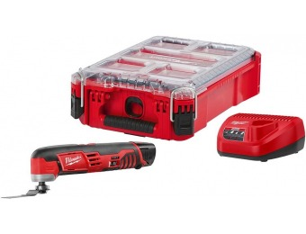 41% off Milwaukee M12 Lithium-Ion Oscillating Multi-Tool Kit