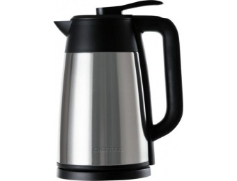 58% off Chefman 1.7L Electric Kettle - Stainless Steel