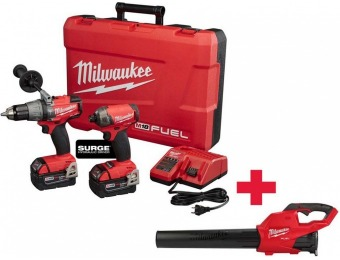 $149 off Milwaukee M18 Fuel Surge Impact & Hammer Drill Combo Kit