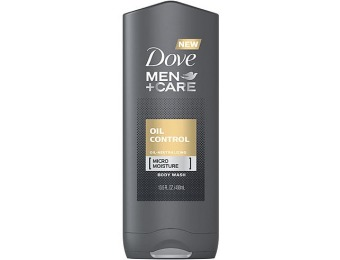 50% off Dove Men+Care Body Wash Oil Control 13.5 oz
