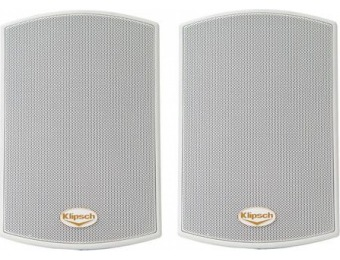 $150 off Klipsch AW-400 Reference All-Weather Outdoor Speakers, Pair