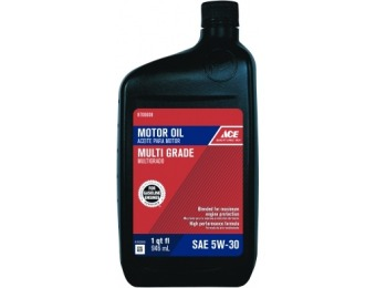 93% off Ace 5W30 Engine Oil 1 qt (6 Pack)