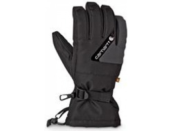 75% off Carhartt Men's Pipeline Waterproof Insulated Gloves