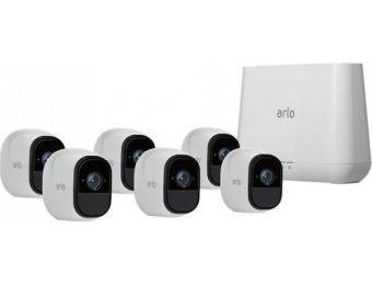 $400 off Arlo Pro 6-Camera Wireless 720p Security Camera System