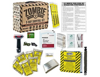 $60 off Zombie Defense Solutions: 3-Day Survival Kit