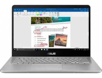 "$250 off Asus 2-in-1 14"" Touch-Screen Laptop - Core i5, 8GB, 1TB"