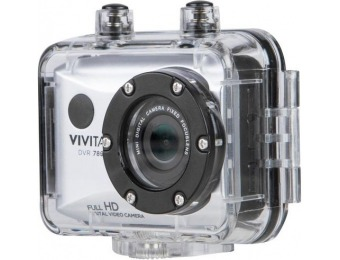50% off Vivitar 1080p Action Camera with Remote