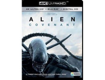40% off Alien: Covenant (4K Ultra HD + Blu-ray + Digital HD)