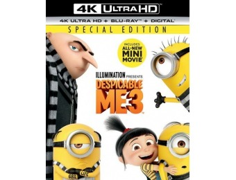 49% off Despicable Me 3 (4K Ultra HD Blu-ray/Blu-ray)