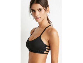 73% off Low Impact Caged-Back Sports Bra
