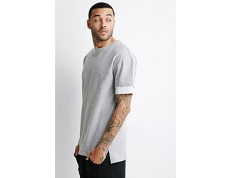 73% off Layered Sweatshirt Tee