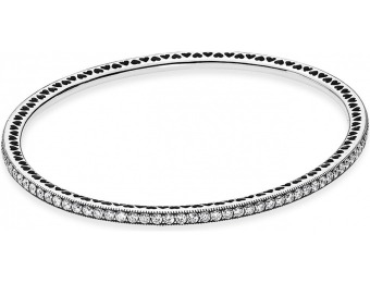 45% off PANDORA Twinkling Forever Bangle Bracelet