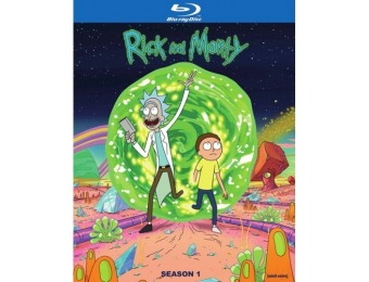 67% off Rick and Morty: Complete First Season (Blu-ray)