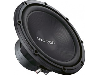 "$60 off Kenwood Road Series 12"" Single-Voice-Coil 4-Ohm Subwoofer"