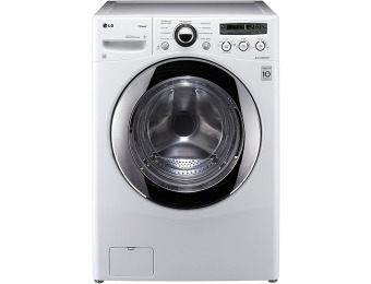 $300 off LG High-Efficiency 3.6 cu ft Front Load Steam Washer
