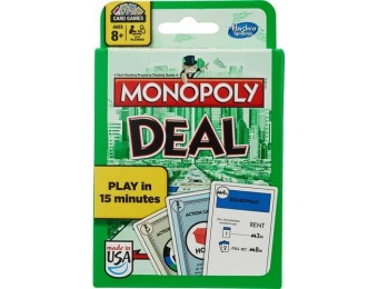 30% off Hasbro Monopoly Deal Card Game
