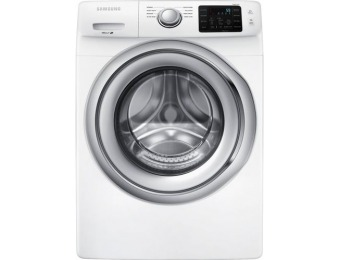$160 off Samsung 4.5 Cu. Ft. 8-Cycle Front-Loading Washer - White
