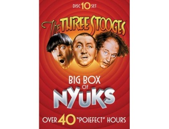 48% off The Three Stooges Box Set [10 Discs] DVD
