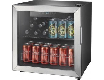 $90 off Insignia 48-Can Beverage Cooler - Stainless Steel