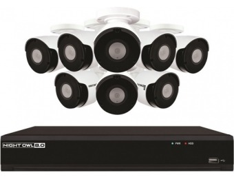 $500 off Night Owl 8-Camera In/Outdoor 2TB Surveillance System