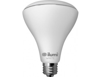 $27 off ilumi 15W Dimmable BR30 LED Light Bulb, 75W Equiv