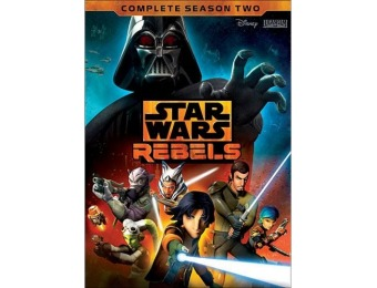 60% off Star Wars Rebels: Complete Season 2 (DVD)