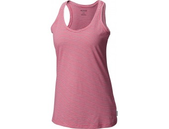 72% off Columbia Edgewater EXS Tank, Ultra Pink