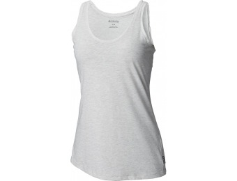 72% off Columbia Edgewater EXS Tank, Light Grey Heather