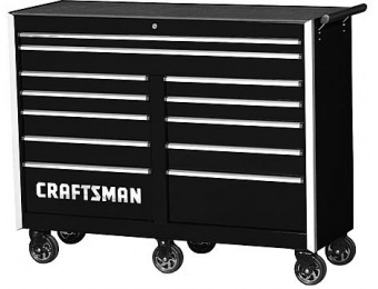 "$1,410 off Craftsman 54"" 12-Drawer PRO Cabinet Integrated Latch System"