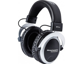 $60 off Marantz MPH-4 50mm Over-Ear Monitoring Headphones