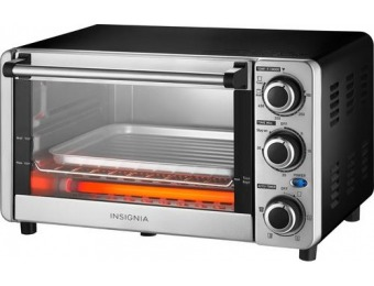 67% off Insignia 4-Slice Toaster Oven - Stainless Steel