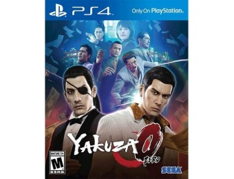 67% off Yakuza 0 The Standard Edition - PlayStation 4