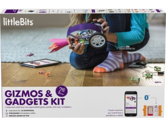 $100 off littleBits Gizmos & Gadgets Kit (2nd edition)