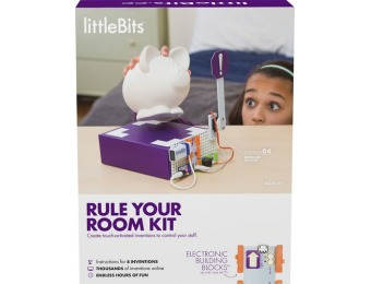 $75 off littleBits Rule Your Room Kit