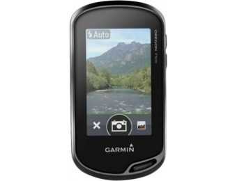 "$120 off Garmin Oregon 3"" GPS with Built-In Camera and Bluetooth"