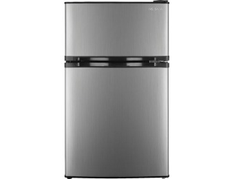 $75 off Insignia 3.0 Cu. Ft. Mini Fridge - Stainless Steel