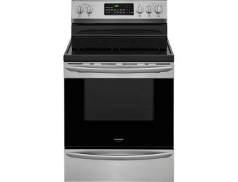 $350 off Frigidaire Gallery 5.7 Cu. Ft. Self-Cleaning Convection Range