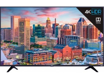 "$150 off TCL 43"" 5 Series Smart HDR 4K UHD TV with Roku TV"