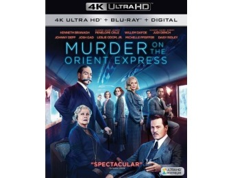 50% off Murder on the Orient Express (4K Ultra HD/Blu-ray)