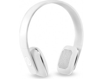 75% off Innovative Technology Bluetooth Headphones, White