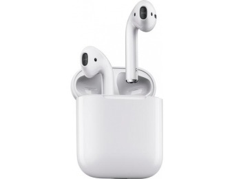 $27 off Apple AirPods Geek Squad Certified Refurbished